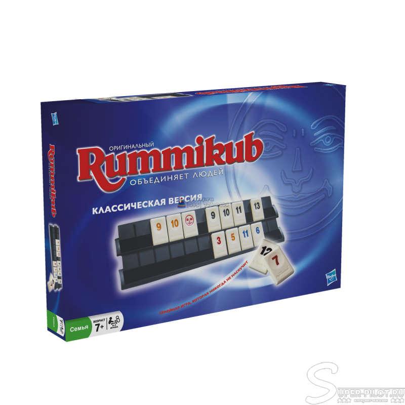 """Hasbro 13201H GAMES  """"Руммикуб """" Настольная игра."""