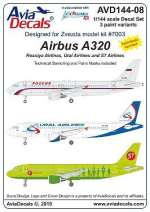 AVD144-08 Aibus A320, 1/144