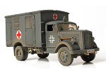 Unimax80092 Автомобиль GERMAN 4x4 AMBULANCE 1/32